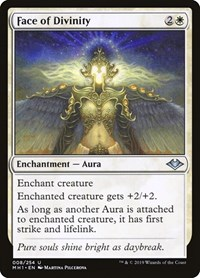 Face of Divinity, Magic: The Gathering, Modern Horizons