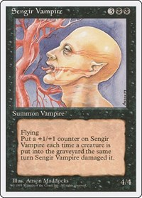 Sengir Vampire, Magic: The Gathering, Fourth Edition