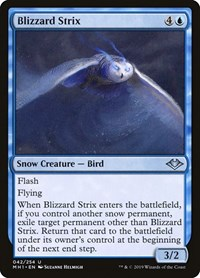 Blizzard Strix, Magic: The Gathering, Modern Horizons