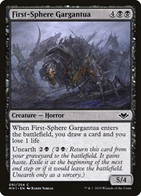 First-Sphere Gargantua, Magic: The Gathering, Modern Horizons
