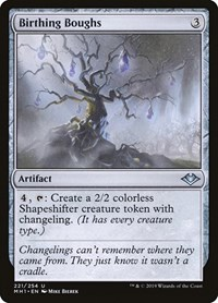 Birthing Boughs, Magic: The Gathering, Modern Horizons