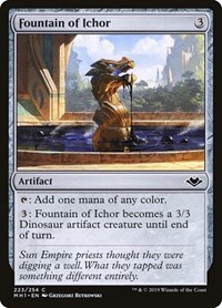 Fountain of Ichor, Magic, Modern Horizons