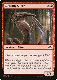 Cleaving Sliver, Magic, Modern Horizons