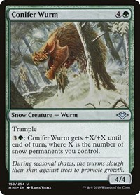 Conifer Wurm, Magic: The Gathering, Modern Horizons