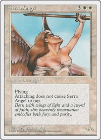 Serra Angel, Magic: The Gathering, Fourth Edition