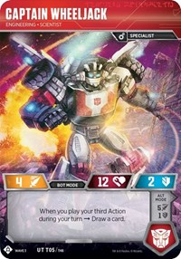 Captain Wheeljack - Engineering Scientist, Transformers TCG, War for Cybertron: Siege I