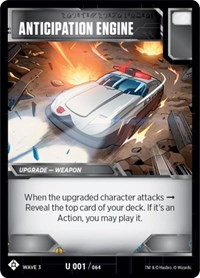 Anticipation Engine, Transformers TCG, War for Cybertron: Siege I