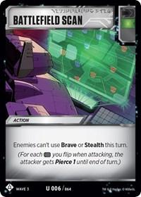 Battlefield Scan, Transformers TCG, War for Cybertron: Siege I