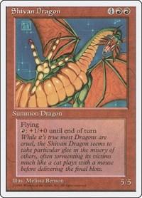 Shivan Dragon, Magic: The Gathering, Fourth Edition