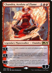 Chandra, Acolyte of Flame, Magic: The Gathering, Core Set 2020
