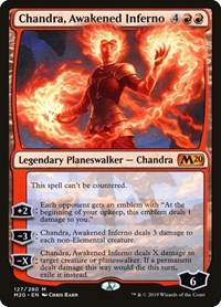 Chandra, Awakened Inferno, Magic: The Gathering, Core Set 2020