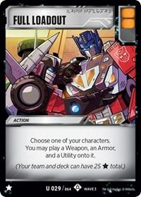 Full Loadout, Transformers TCG, War for Cybertron: Siege I