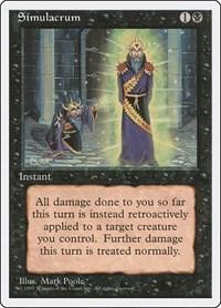 Simulacrum, Magic: The Gathering, Fourth Edition