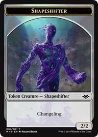 Shapeshifter (001) // Bear (011) Double-sided Token