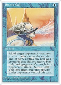 Siren's Call, Magic: The Gathering, Fourth Edition