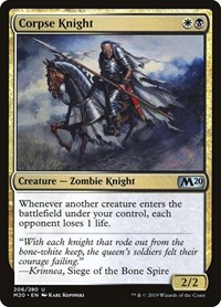 Corpse Knight, Magic, Core Set 2020