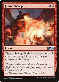 Flame Sweep, Magic, Core Set 2020