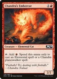 Chandra's Embercat, Magic: The Gathering, Core Set 2020