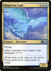 Empyrean Eagle, Magic, Core Set 2020