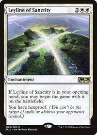Leyline of Sanctity, Magic: The Gathering, Core Set 2020