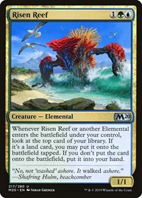 Risen Reef, Magic: The Gathering, Core Set 2020