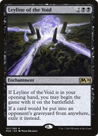 Leyline of the Void, Magic: The Gathering, Core Set 2020