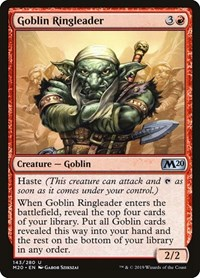 Goblin Ringleader, Magic: The Gathering, Core Set 2020