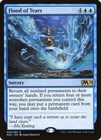 Flood of Tears, Magic: The Gathering, Core Set 2020