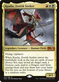 Kaalia, Zenith Seeker, Magic: The Gathering, Core Set 2020