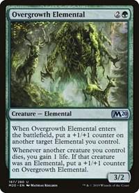 Overgrowth Elemental, Magic, Core Set 2020