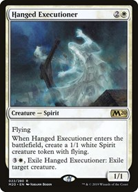 Hanged Executioner, Magic: The Gathering, Core Set 2020