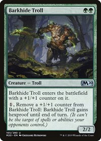 Barkhide Troll, Magic, Core Set 2020
