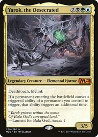 Yarok, the Desecrated, Magic: The Gathering, Core Set 2020