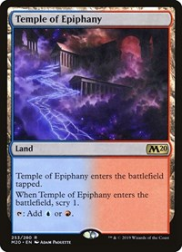 Temple of Epiphany, Magic: The Gathering, Core Set 2020