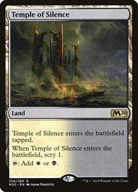 Temple of Silence, Magic: The Gathering, Core Set 2020