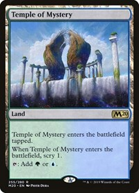 Temple of Mystery, Magic: The Gathering, Core Set 2020
