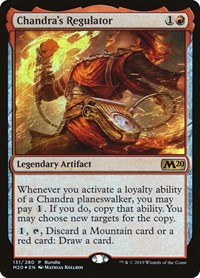 Chandra's Regulator (M20 Bundle), Magic: The Gathering, Unique and Miscellaneous Promos