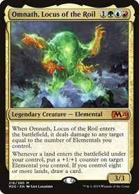 Omnath, Locus of the Roil, Magic: The Gathering, Core Set 2020