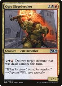 Ogre Siegebreaker, Magic: The Gathering, Core Set 2020