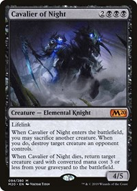 Cavalier of Night, Magic: The Gathering, Core Set 2020