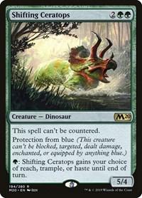Shifting Ceratops, Magic: The Gathering, Core Set 2020