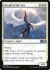 Herald of the Sun, Magic: The Gathering, Core Set 2020