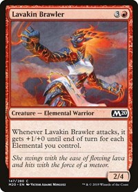 Lavakin Brawler, Magic: The Gathering, Core Set 2020