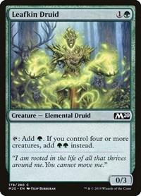 Leafkin Druid, Magic: The Gathering, Core Set 2020