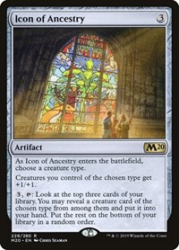Icon of Ancestry, Magic: The Gathering, Core Set 2020
