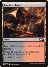 Bloodfell Caves, Magic: The Gathering, Core Set 2020