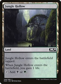 Jungle Hollow, Magic: The Gathering, Core Set 2020