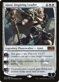 Ajani, Inspiring Leader, Magic: The Gathering, Core Set 2020