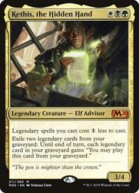 Kethis, the Hidden Hand, Magic, Core Set 2020