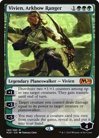 Vivien, Arkbow Ranger, Magic: The Gathering, Core Set 2020